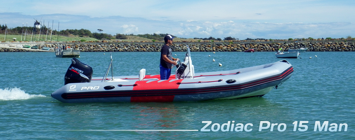bateau de peche zodiac